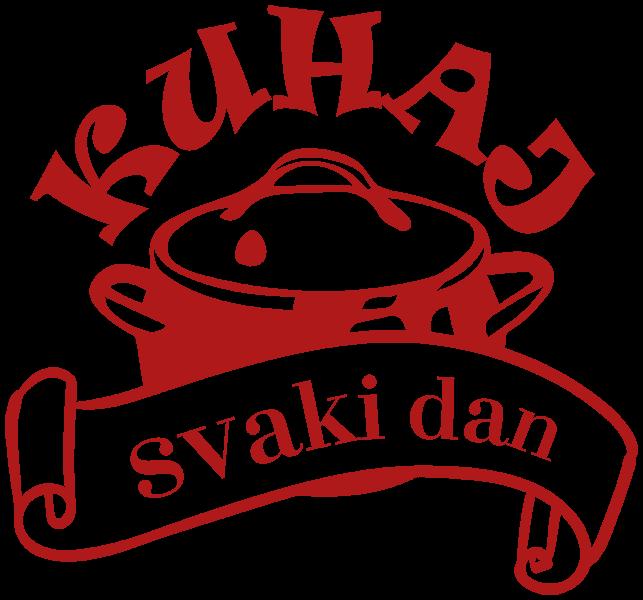 Logo Kuhaj Svaki Dan Crveni 600