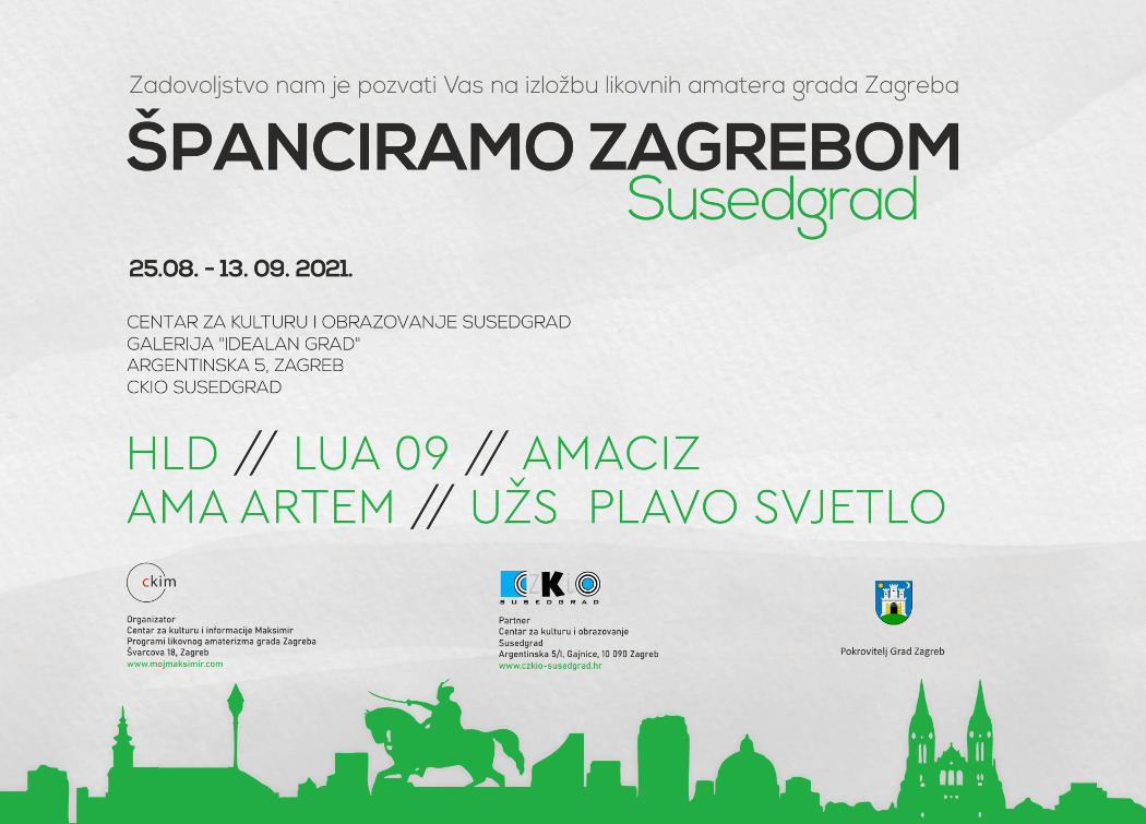 Španciramo Zagrebom Skupna Izložba Likovnih Amatera